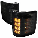 Smoked Amber LED Side Mirror Signal Lights