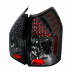 Smoked/Black Euro LED Tail Lights