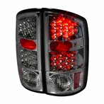 Smoked Euro LED Tail Lights