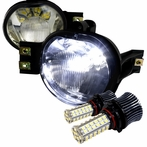 Smoked SMD LED Fog Lights Kit