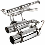 Stainless Dual Tip Catback Exahust