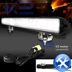 Universal 18 LED Work Fog Lights + Wiring Kit