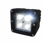 Universal 4 LED Work Fog Lamp (Flood Beam)