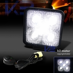 Universal 5 LED Work Fog Lamps + Wiring