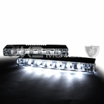 Universal 6 LED Daytime Running Lights (White)
