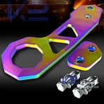 Universal Billet Style Aluminum Rear Tow Hook (Neo Chrome)