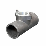 "Universal Blow Off Valve Adaptor Flange Pipe (2.5"")"