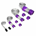 Universal Engine Dress-Up Braided Hose Kit (Purple)