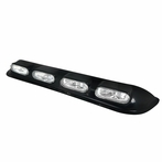 Universal Oval Roof Fog Lights - Clear