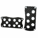 Universal Racing Pedals Set (Automatic) (Carbon Fiber)