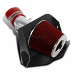 V6 Cold Air Intake System (Red Filter)