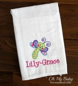 Dragonfly Burp Cloth