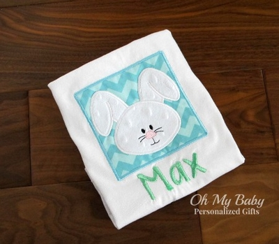Easter Bunny Box Blue