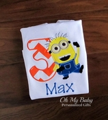 Yellow Guy Birthday Shirt