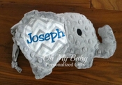 Personalized Elephant - other colors available