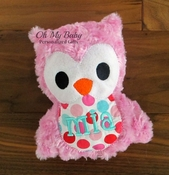 Personalized Owl - Other colors available