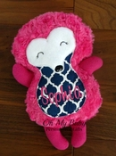 Personalized Stuffed Hedgehog - More colors available