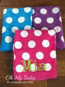 Polka Dot Beach Towel