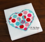 Scalloped Valentine Heart