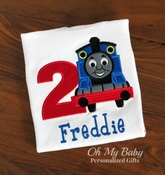 Train Birthday Shirt - Large