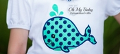 Whale Applique Shirt