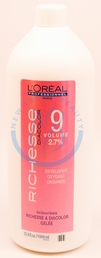 LOreal Professional Richesse 9 Volume 2.7% Developer 33.8oz 1000ml