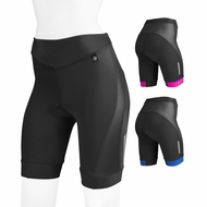 Aero Tech Women's Elite Bike Shorts w Air Gel and AeroCool Ventilation