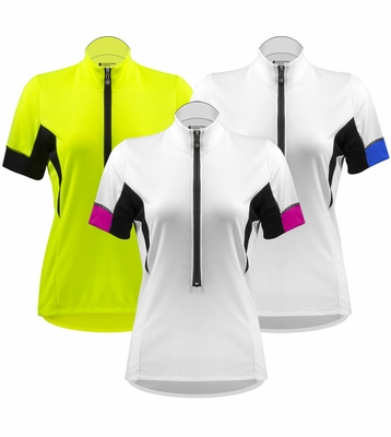 Aero Tech Women's Elite Cycling Jersey with Coolmax® Micro-Mesh Fabric