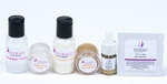 Natural Hyperpigmentation Sample Kit for Black Skin