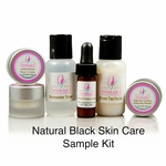 Natural Black Skin Care Sample Kits
