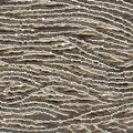 Charlotte Seed Beads 13/0 Metallic Silver 6 String/Hank - appx 10 gms