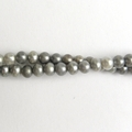 Freshwater Pearls Grey 5mm - 16 inch Strand