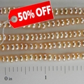 Freshwater Pearls Light Peach Rondelle 3.5x4mm - 16inch Strand