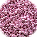 Seed Beads Rocailles Metalic Pink 11/0 Sold per pkg of 40 grams