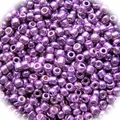 Seed Beads Rocailles Metalic Purple Glow 11/0 Sold per pkg of 40 grams