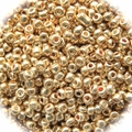 Seed Beads Rocailles Metalic Rose Gold 11/0 Sold per pkg of 40 grams