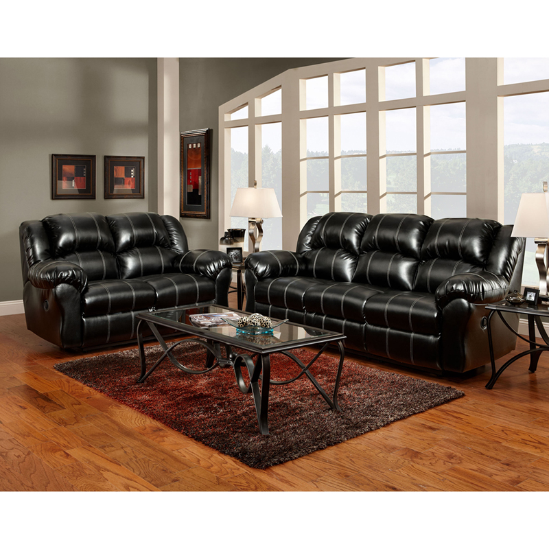 exceptional designs reclining living room set in taos