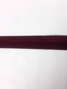 1 Roll fold over  elastic Burgundy 2 Tone Matte Shinny 200 Yards 3/4 in