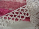 1 Y white venice venise rayon edge lace trim bridal 1 7/8 inches wide