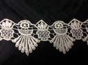 Ivory Venice Lace Scalloped lace trim 2 1/4 inch wide