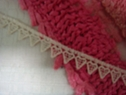 1 yard Natural Heart Venice Venise Lace Trim 7/16 Inch wide