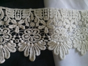 1 yard natural venice/venise/guipure lace trim