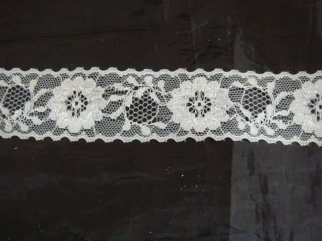 Scalloped Lace Trim by The Yard Floral Scalloped Lace Trim