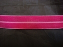 1 yard of Fuchsia color Fold over stretch elastic 5/8 w
