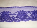 1 yard of purple scalloped floral lace trim 2 1/4 W L7-1