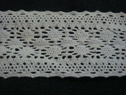 White crochet trim 1 1/2 500c