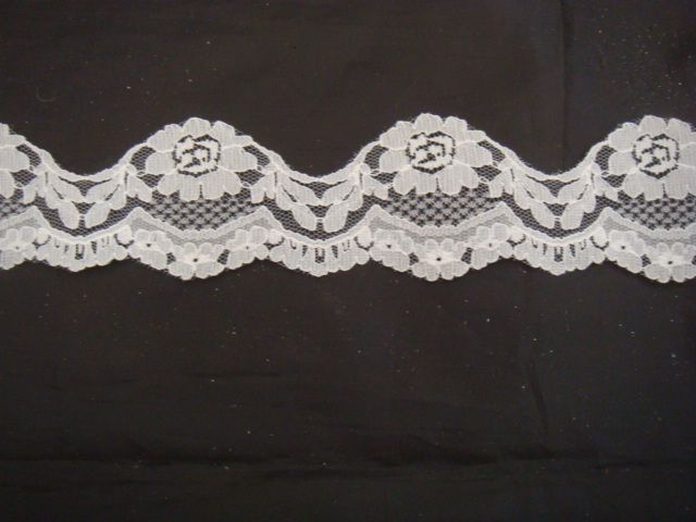 Scalloped Lace Trim by The Yard Scalloped Lace Trim