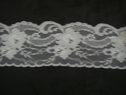 1 yard of white scalloped floral lace trim. 3 1/2 W L5-4