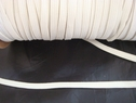 1 yard off white knitted elastic trim 1/4 W