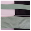 1 yard spring green knitted thick elastic bra strap 3/4 icnhes wide.